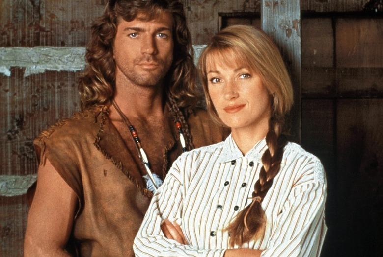 Joe Lando i Jane Seymour jako Byron Sully i dr Quinn