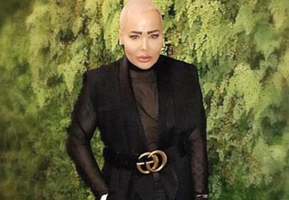 mężczyzna jak Kim Kardashian