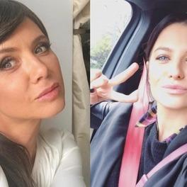 Selfie Kingi Rusin i Ani Lewandowskiej