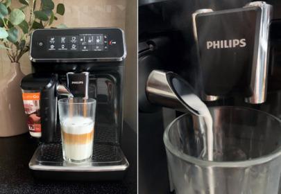 Test ekspresu Philips 3200 LatteGo