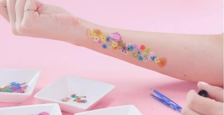 Kwiatowy Tatuaż Który Zrobisz Sama Wizazpl