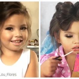 makijaż dziecko