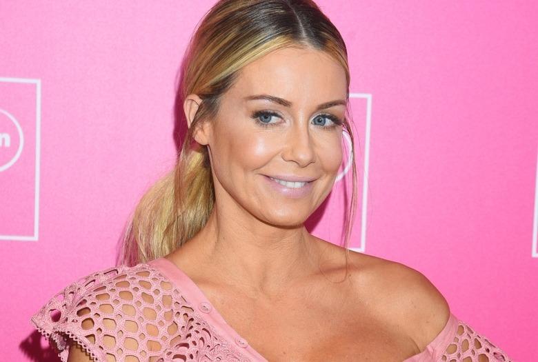 Małgrzata Rozenek-Majdan blondynka w różowej sukience