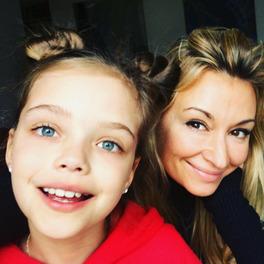 Selfie Martyny Wojciechowskiej z córką