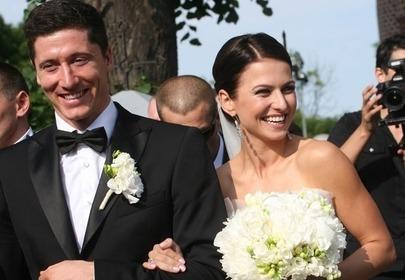 Ślub Lewandowskich