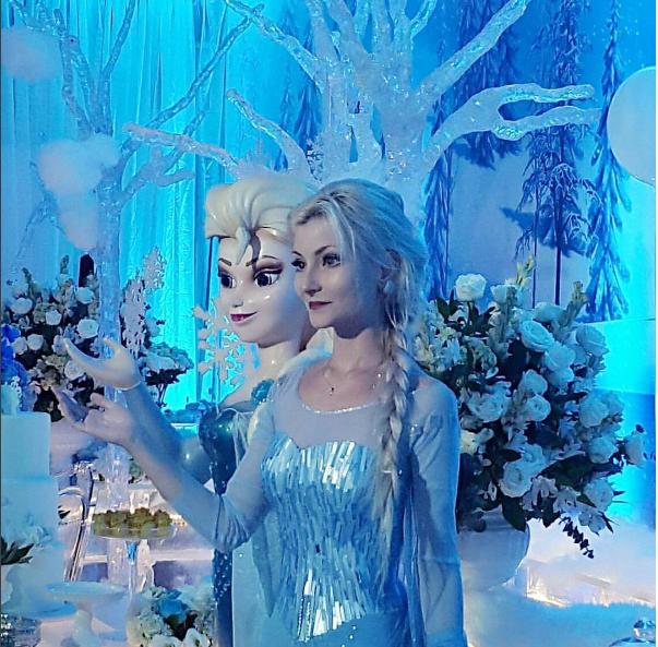 Prawdziwa Elsa Z Krainy Lodu Wizazpl