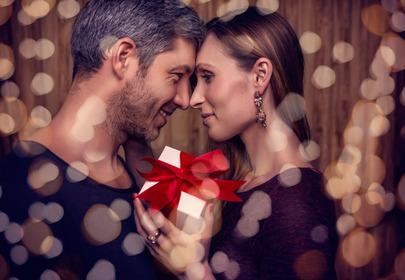 para daje sobie prezent walentynkowy