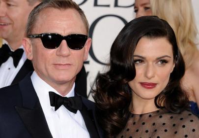Daniel Craig z żoną Rachel Weisz