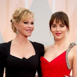 Dakota Johnson z matką Melanie Griffith