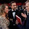 Ryan Gosling z siostrą Mandi i Viggo Mortensen