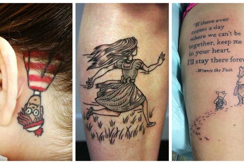 8 Tatuaży Inspirowanych Książkami Wizazpl