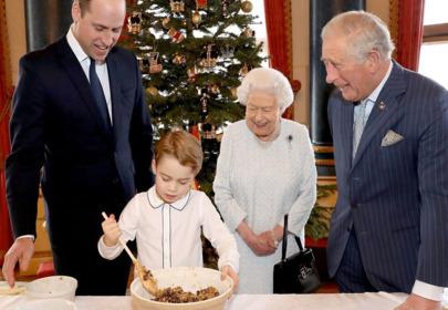 Wyciekły zdjęcia rodziny królewskiej z przygotowań do świąt