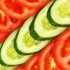 Pomidor + świeży ogórek