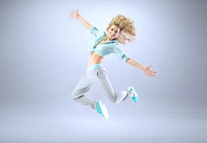 kobieta taniec energia