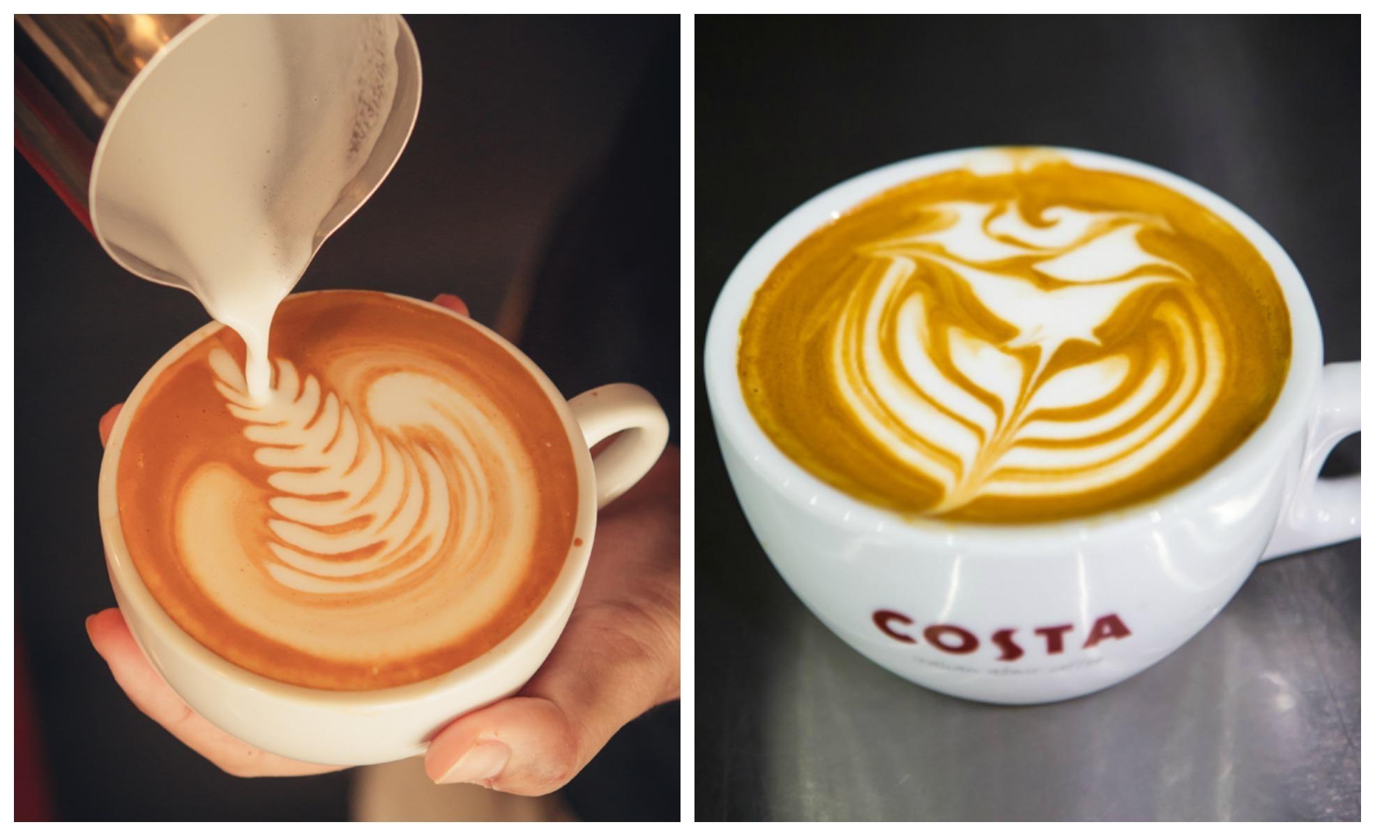 Latte art, czyli obrazy mlekiem malowane