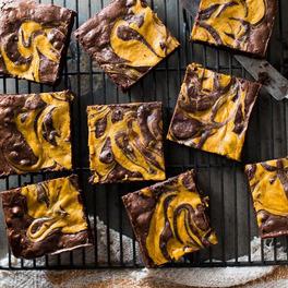 Przepis na dyniowe brownie