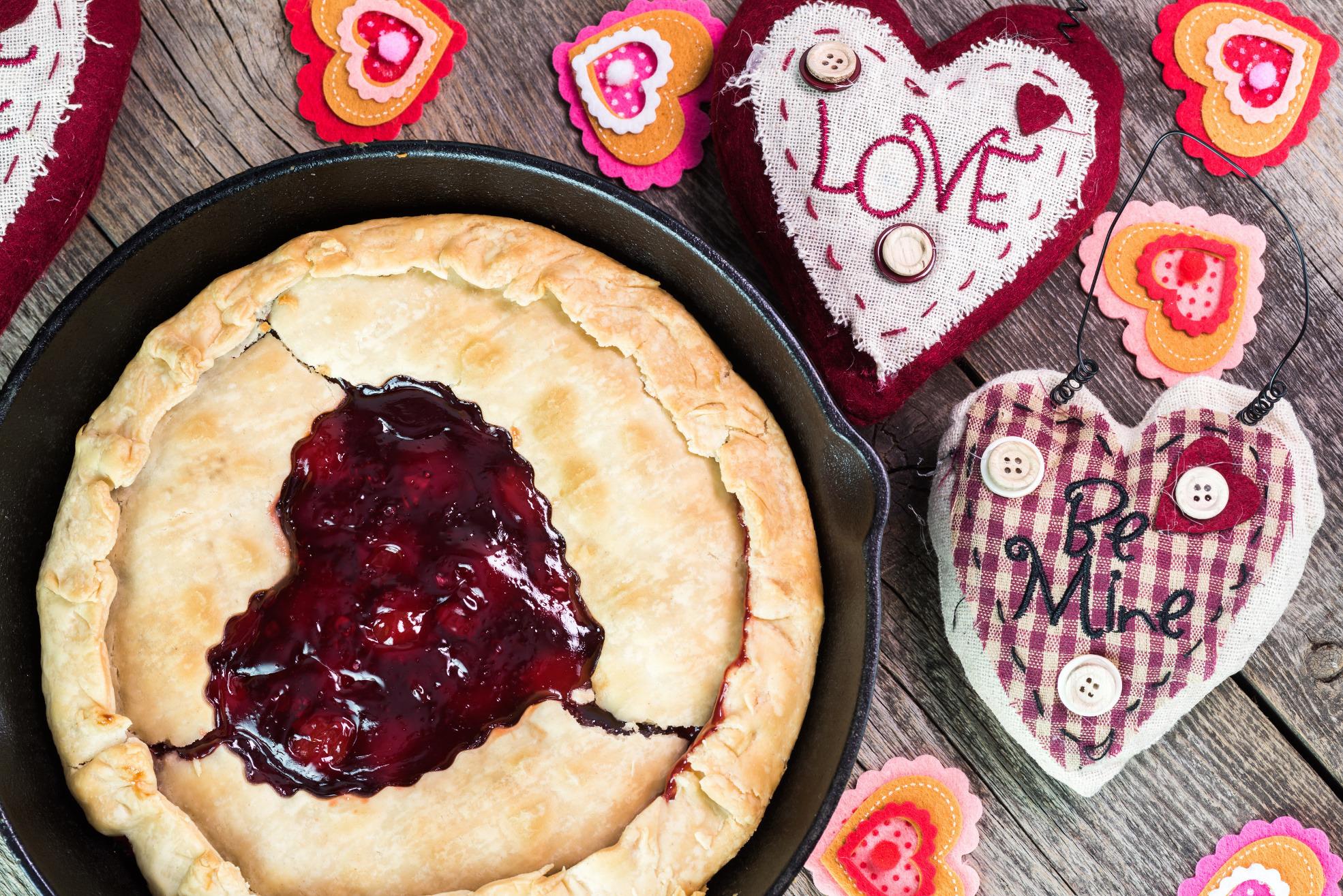 6 najlepszych słodkości na Walentynki