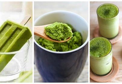 zielona herbata desery