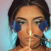 Zapalniczka w makijażu - podbicie koloru kosmetyków