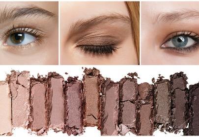 paleta cieni do dziennego makijażu