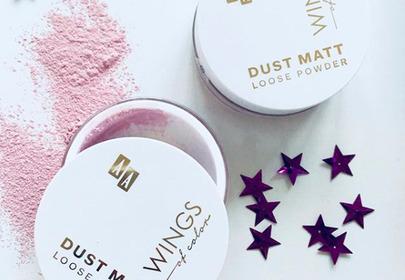 AA Wings of Color, Dust Matt, Loose Powder Skin Freshener (Puder sypki matujący poprawiający koloryt cery)