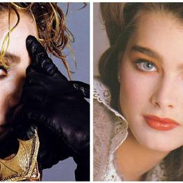 Madonna i Brooke Shields