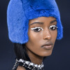 Chanel, makijaż z dżetami, zima 2014