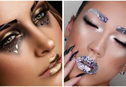 foliowe brwi nowy trend w makijażu