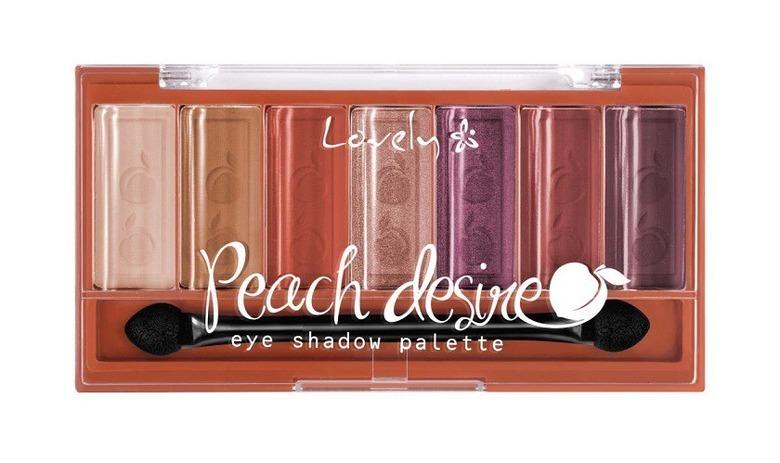 Lovely - paleta cieni Peach Desire