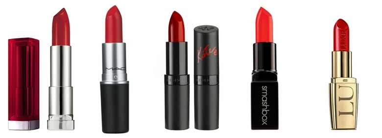 Jak dobrać czerwoną szminkę?