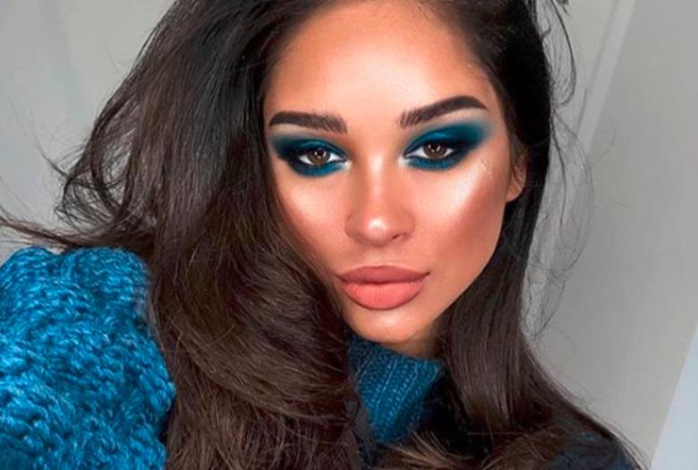 Kobaltowy Makijaż Oczu Wizazpl