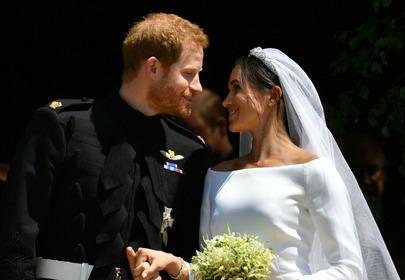 Ślub księcia Meghan Markle i księcia Harry'ego