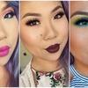 Kolorowy i szalony makijaż