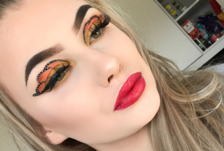 Butterfly Eyes makijaż