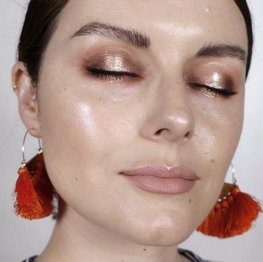 Makijaż oczu typu spotlight - inspiracje