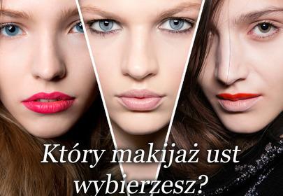 Makijaż ust na jesień 2013