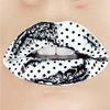 Makijaż białą szminką