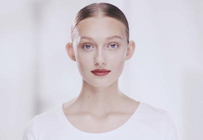 Makijaż z bordowymi ustami krok po kroku