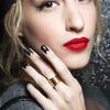 Manicure z czarnym lakierem Mabille - manicure na wiosnę 2014