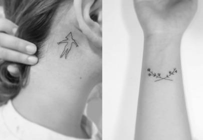 Małe Tatuaże Wizazpl