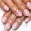 Manicure z perłami