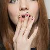 Daks, manicure ze wzorkami - jesień 2015