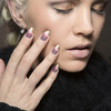 Hoffman, manicure manicure z pastelowymi wzorami i złotem - jesień 2015