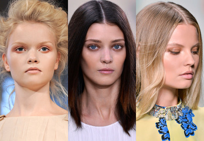 Morelowy makijaż lato 2014