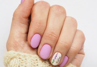 wiosenne manicure