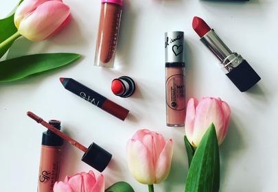matowe szminki