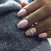 Paznokcie trumienki na krótkich paznokciach