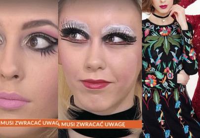 Piękne modelki padły ofiarą koszmarnego makijażu