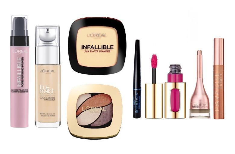 Makijaż kosmetykami L'Oreal Paris