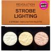 Makeup Revolution Paleta, rozświetlaczy STROBE LIGHTING